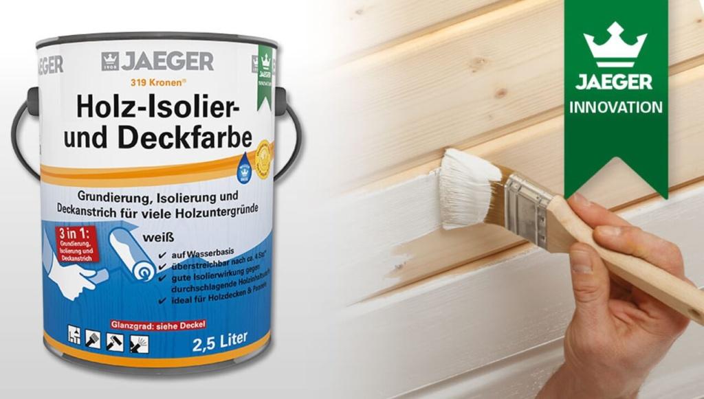 Jaeger, Holz- Isolier und Deckfarbe