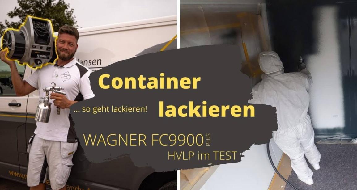Pulverbeschichtung - Container lackieren
