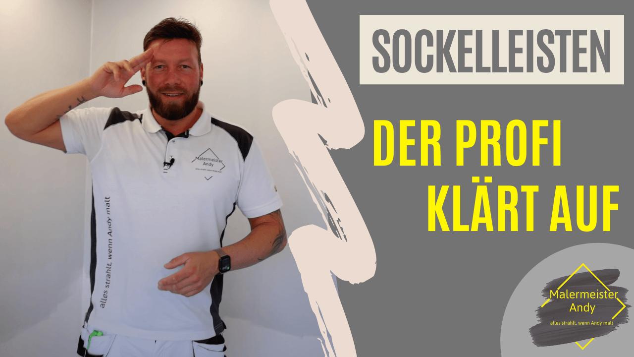 Sockelleisten – professionell montieren