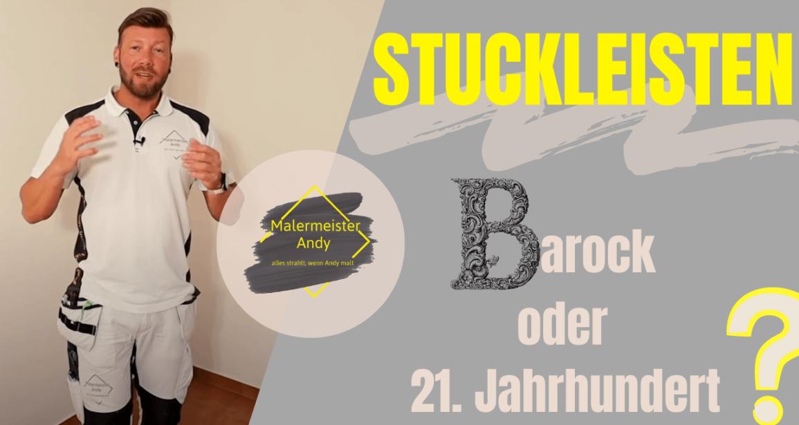 Stuckleisten - Barock oder modern?