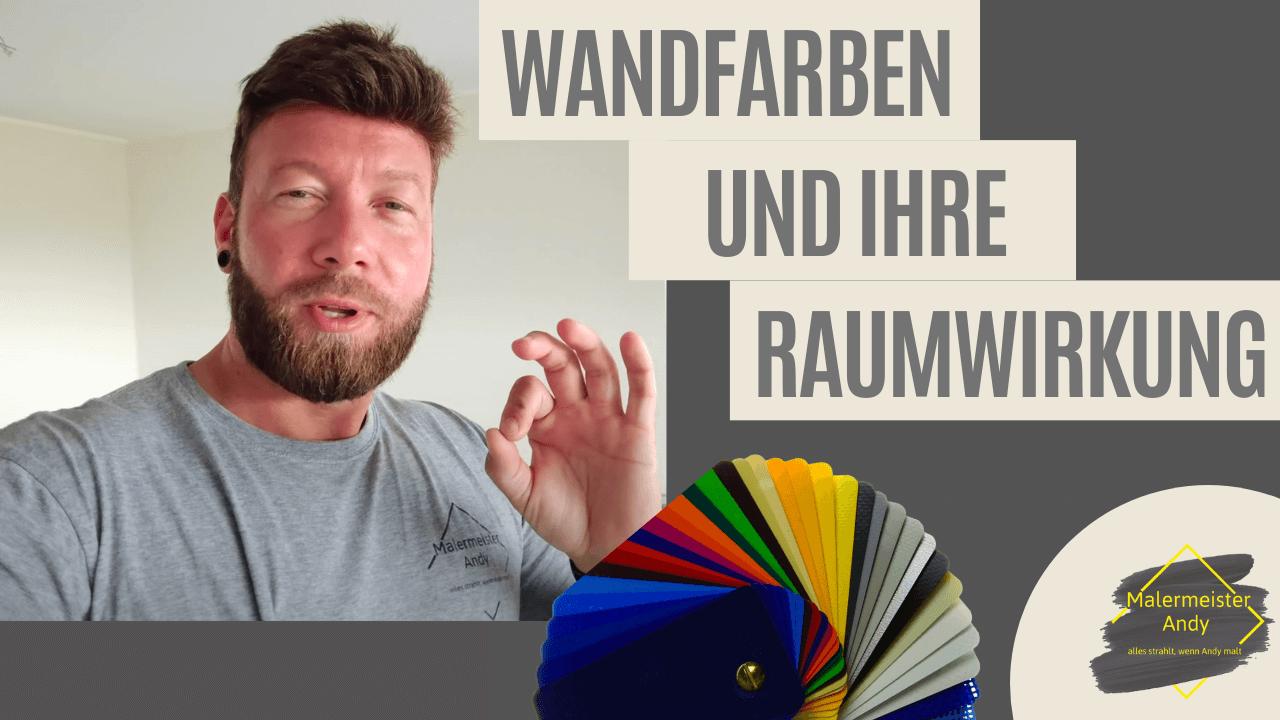 Wandfarben & ihre Raumwirkung